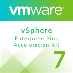 Upgrade: VMware vSphere 7 Essentials Plus to vSphere 7 Enterprise Plus Acceleration Kit for 6 processors